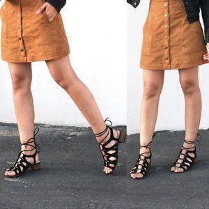 Sam Edelman Adella Lace Up Gladiator Sandals